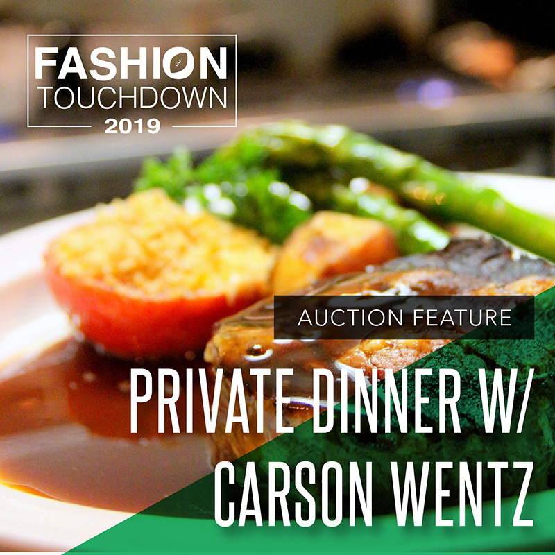 Private Dinner with Carson Wentz