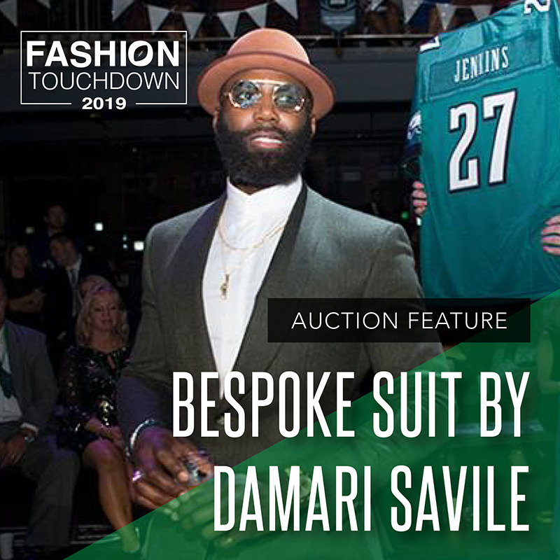 Bespoke Suit by Damari Savile